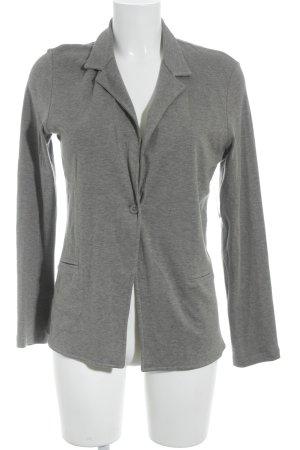 Margittes Jerseyblazer grau schlichter Stil