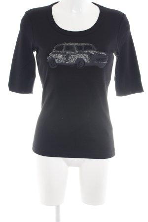 Margittes Print-Shirt Schriftzug gedruckt Casual-Look