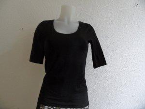 Margittes Shirt Gr. 38 Schwarz Luxus Pur!