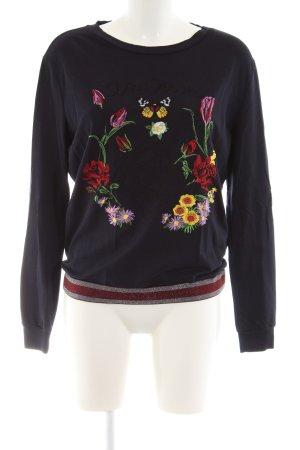 Margittes Sweatshirt Blumenmuster Casual-Look