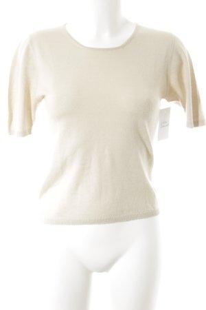 Maria di Ripabianca Strickshirt beige Casual-Look