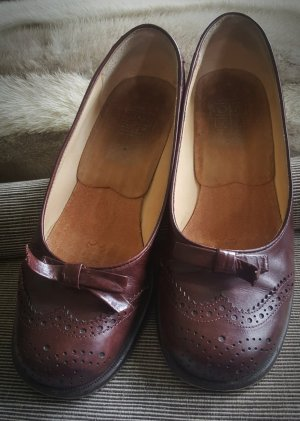 hessnatur Zapatos Informales burdeos