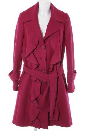 Maria Grazia Severi Fleecemantel mehrfarbig extravaganter Stil