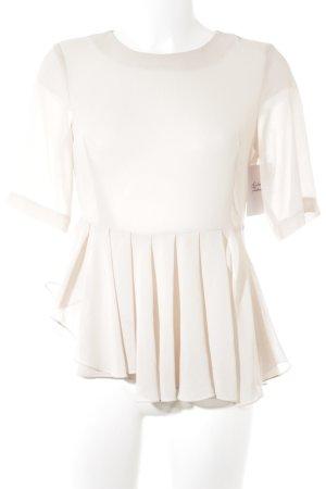 Mariagrazia Panizzi Transparante blouse nude nude uitstraling