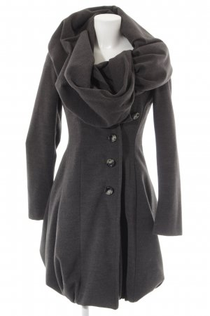 Mariagrazia Panizzi Manteau d'hiver noir style décontracté