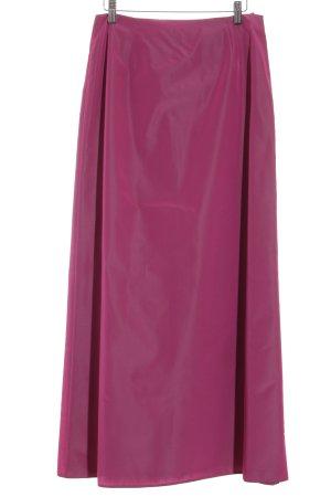 Marie Blanc Asymmetry Skirt violet elegant