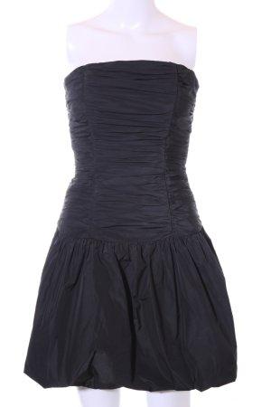 Marie Blanc vestido de globo negro elegante