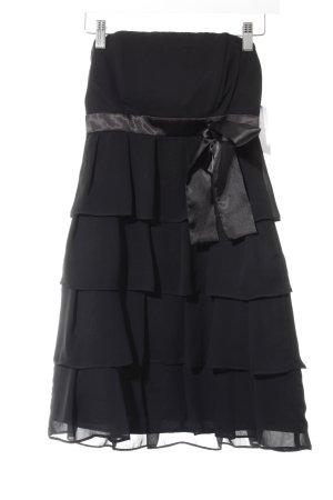 Marie Blanc Cocktailkleid schwarz Elegant