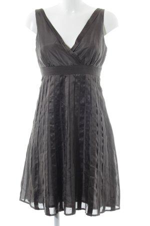 Marie Lund A-Linien Kleid graubraun Casual-Look