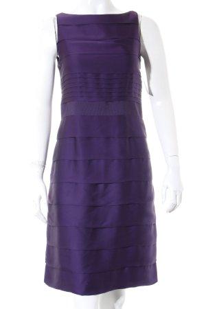 Marie Lund Abendkleid dunkelviolett Romantik-Look
