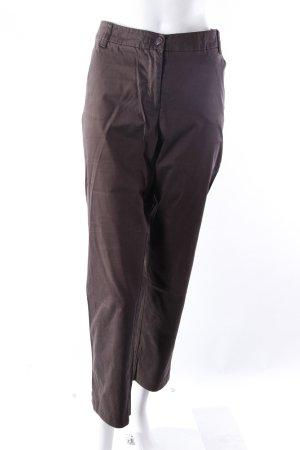 Marie Lund Pantalone da abito marrone-nero
