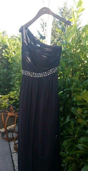 Marie Lund Ball-, Abendkleid dunkelblau