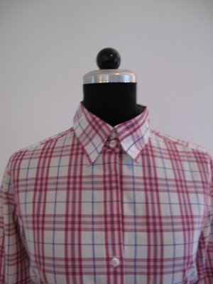 Marie Lund, Bluse, Kairomuster, Rosa, Gr 36,