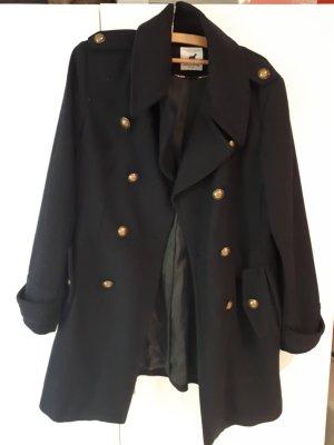 Marie Lund Robe manteau bleu foncé