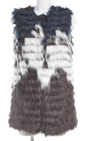 Marie Lund Fellweste Farbverlauf extravaganter Stil