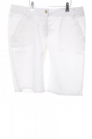 Marie Lund High-Waist-Shorts weiß Casual-Look