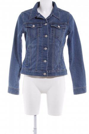 Marie Lund Denim Jacket steel blue jeans look