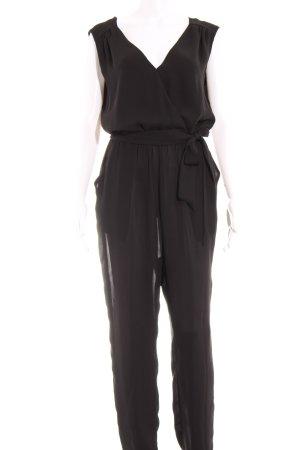 Marie Lund Jumpsuit schwarz Elegant