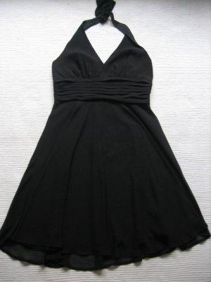 marie lund kopenhagen kleid abendkleid sommer gr. s 36 schwarz edel luxus neu