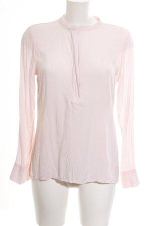Marie Lund Langarm-Bluse pink Casual-Look