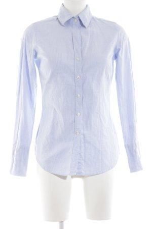 Marie Lund Langarmhemd blau Business-Look