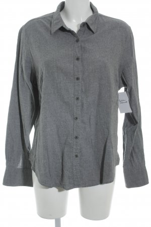 Marie Lund Langarmhemd grau schlichter Stil