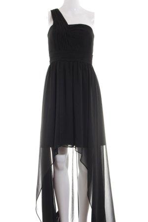 Marie Lund One-Shoulder-Kleid schwarz Elegant