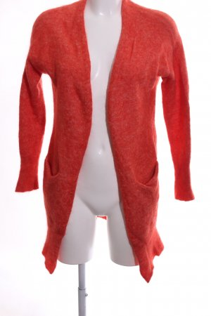 Marie Lund Strick Cardigan rot Casual-Look