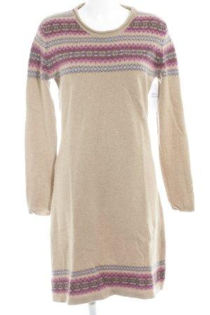 Marie Lund Vestito di lana motivo astratto stile casual