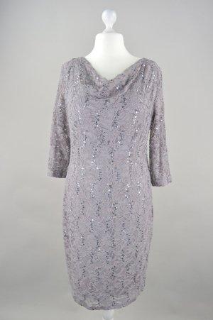 Marie Noire Kleid Abendkleid grau Größe 44