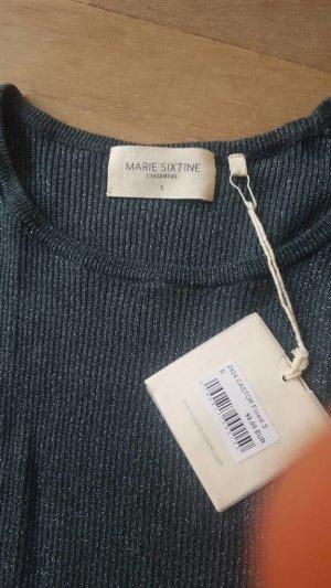 Marie Sixtine Sessun Pullover Shirt petrol Gr. S Neu mit Etikett