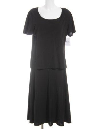Mariella Burani Jersey Twin Set schwarz Elegant
