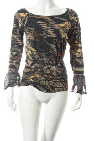 Mariella Burani Shirt Aztekenmuster Casual-Look