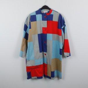 Shirtwaist dress multicolored cotton