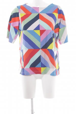 Marimekko Camiseta degradado de color estilo extravagante