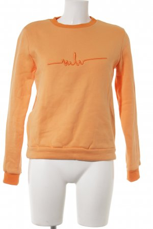 Marina Hoermanseder Sweatshirt orange-neonorange Casual-Look