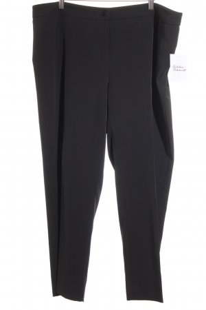 Marina Rinaldi Bundfaltenhose schwarz Business-Look