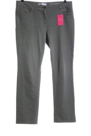 Marina Rinaldi Five-Pocket Trousers light grey casual look