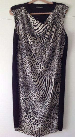 MARINA RINALDI Kleid in Leopard -Druck Größe M  Neu