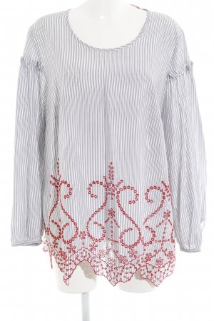 Marina Rinaldi Langarm-Bluse mehrfarbig schlichter Stil