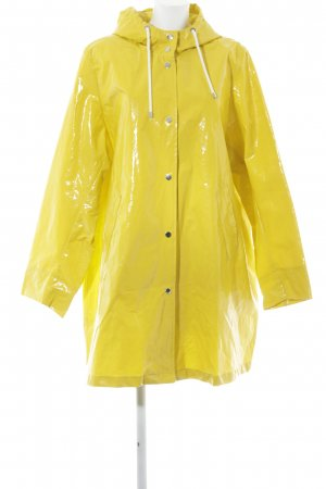 Marina Rinaldi Heavy Raincoat lime yellow street-fashion look