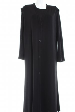 Marina Rinaldi Woven Twin Set black casual look