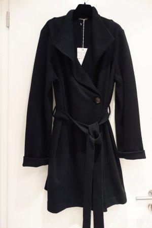 Marina Rinaldi Manteau en tricot noir