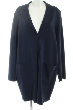 Marina Sport Long-Blazer dunkelblau schlichter Stil