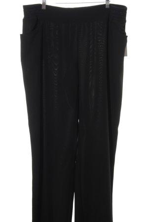 Marina Sport Marlenehose schwarz klassischer Stil