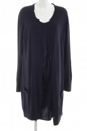 Marina Sport Wollen jurk blauw simpele stijl