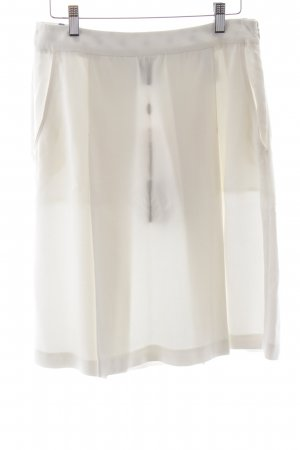 Marina Yachting Plaid Skirt natural white business style