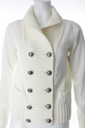 Marina Yachting Knitted Vest natural white cotton