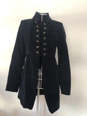 Zara Long Jacket dark blue
