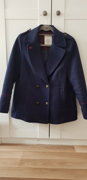 edc by Esprit Naval Jacket red-dark blue